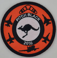 2016 Pitch Black Uniform Patch Round