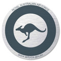 Roundel Sticker Low vis