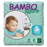 Bambo Nature Junior eco nappies size 5