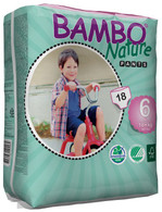 Bambo Nature XL Training Pants 18kg+ -  size 6+