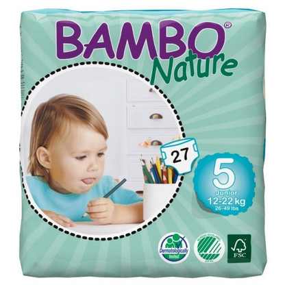 Bambo Nature Junior Nappies - size 5