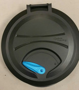 Pelican Kayak Round Quick Lock Hatch Complete. Electric Blue