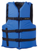 Onyx Life Jacket, General Purpose Blue/Black Choose Size