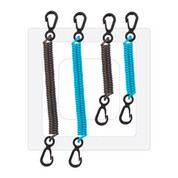 Dry Doc, Coiled Tethers. 4 pack