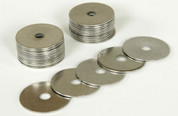 Stainless Steel Rivet Washers, 30 pack