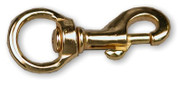 Brass Swivel Snap 3""