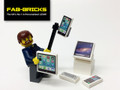 Custom Printed LEGO Tech Pack, includes iPhone, iPad and much more!