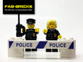 Custom Printed LEGO Police Signs