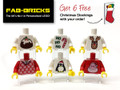 6 Christmas Jumpers - *FREE SHIPPING! & 6 FREE STOCKING TILES*