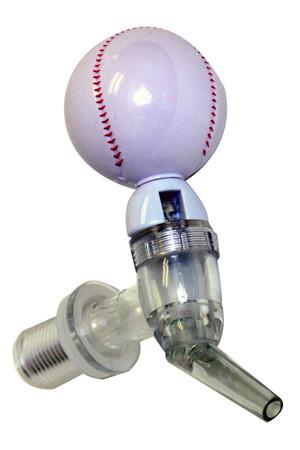 Baseball Beer Tube Tap
