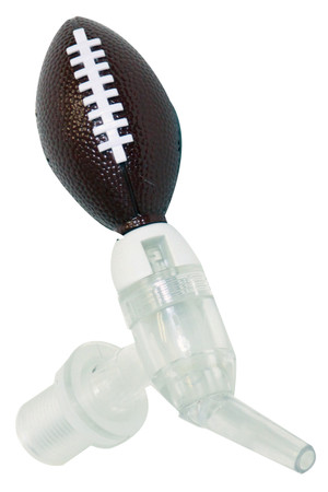 Football Beer Tube Tap