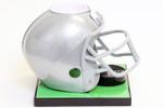 Grey Football Helmet Base