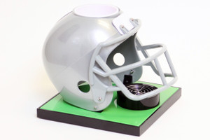 Grey Football Helmet Base