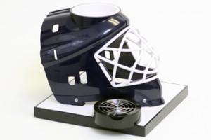 Blue Hockey Helmet Base