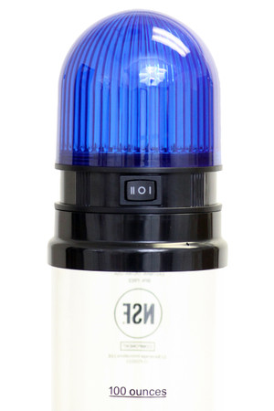 Blue Light Lid (shown on Tall Tube)