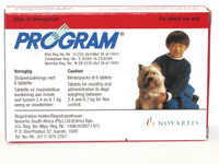 Program Tabs 6 pk : Small Dog 5-10 lbs  (2.4-6.7kg)