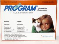 Program Oral Suspension 6 pk: Cats & Kittens 1-10 lbs (0-4.5 kg)