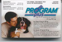 Sentinel / Program Plus - 6 pack:X-Large Dog 51-100 lbs (23-45)