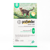 Profender Spot On Small Cat under 5.5lbs (2.5kg), 1 Tube