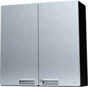 "Hercke  Overhead Storage Cabinet (30"" wide / 30"" tall / 12""deep) Stainless Steel (S-72)"