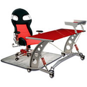 PitStop Formula One Red Desk Set