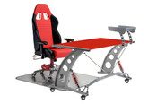 PitStop Grand Prix Complete Office Furniture Set - RED Desk