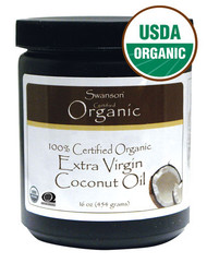 Oleo de Coco Liquido - 100% Certified Organic Extra Virgin Coconut Oil 16oz