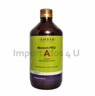 Shampoo Monovit Pro A - Ambar 500ml
