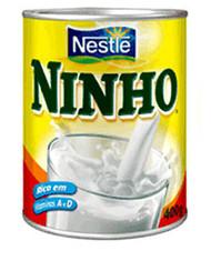 Instant dry whole milk Ninho - Nestle - 360g
