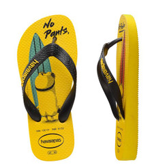 Havaianas Kids Minions - Citrus Yellow/Black