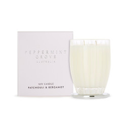 Peppermint Grove Large Candle 350g - Patchouli & Bergamot