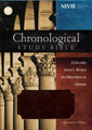 NIV Chronological Study Bible, Brown/Auburn, LeatherSoft