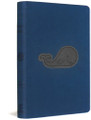 Bible ESV Compact Deep Blue Whale TruTone