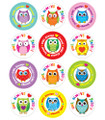 """Owl"" Always Love Jesus! Shape Stickers"