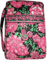 Bible Cover - Quilted Pink/Black