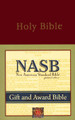Bible NASB Gift and Award Burgundy