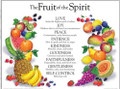Fruit of the Spirit Wall Chart - Laminated
