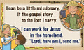 Abeka A Little Missionary Bible Song