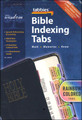 Bible Tabs - Rainbow Colored