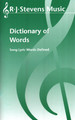 Dictionary of Words