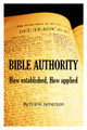 Bible Authority Workbook