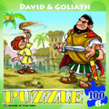 Puzzle - David and Goliah (100 pieces)