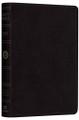 Bible ESV Pocket New Testament Black Genuine Leather