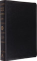Bible ESV Giant Print Black Genuine Leather
