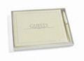 Guest Book Cream with Pen