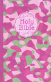 Bible NKJV Camouflage Pink Cloth