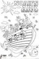 Coloring Poster - Noah's Ark