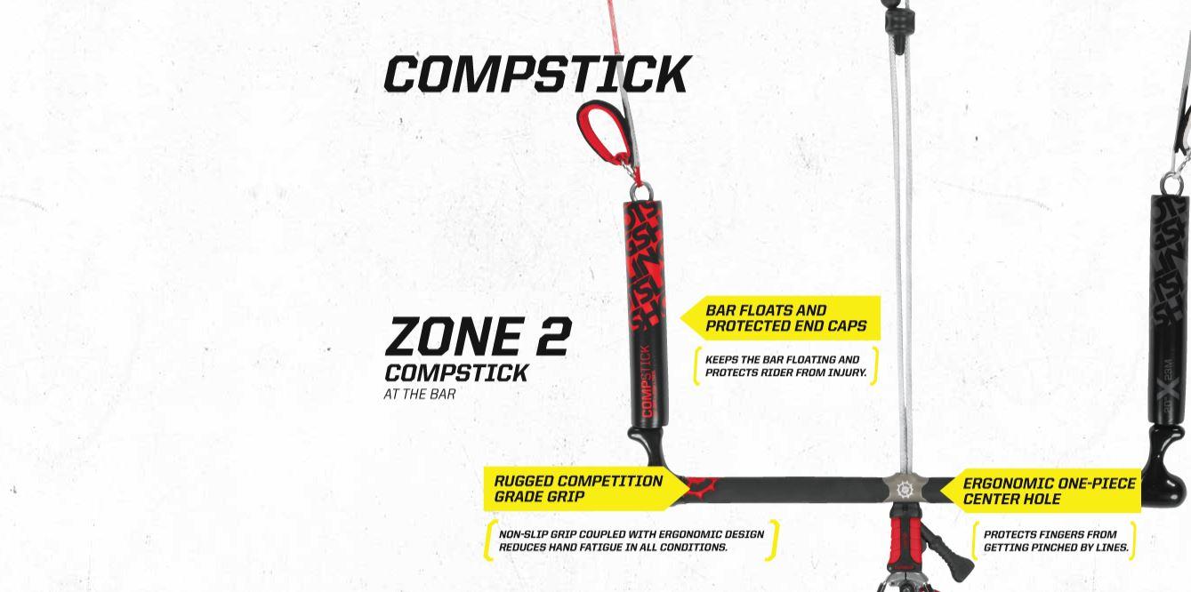 2015 Slingshot Compstick Control Bar