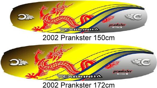 Cabrinha 2002 Prankster kiteboard