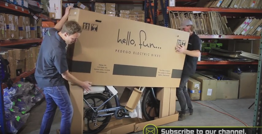 Unboxing your new Pedego electric bike